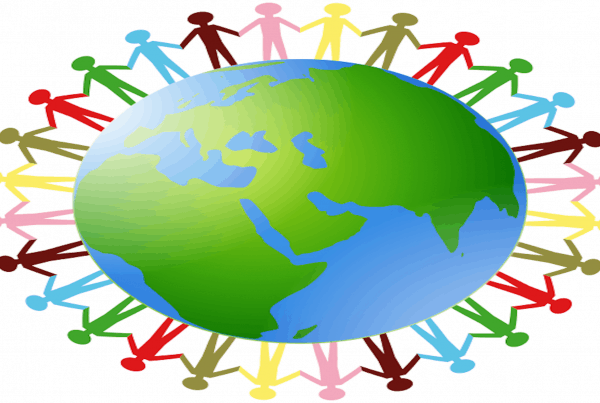Earth Holding Hands Corporate Social Responsibility