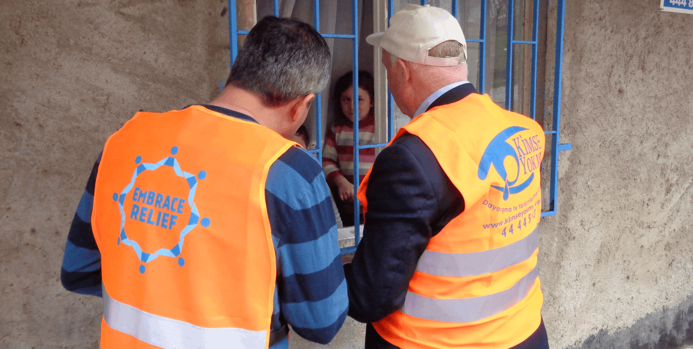 Embrace Relief Syrian Refugees