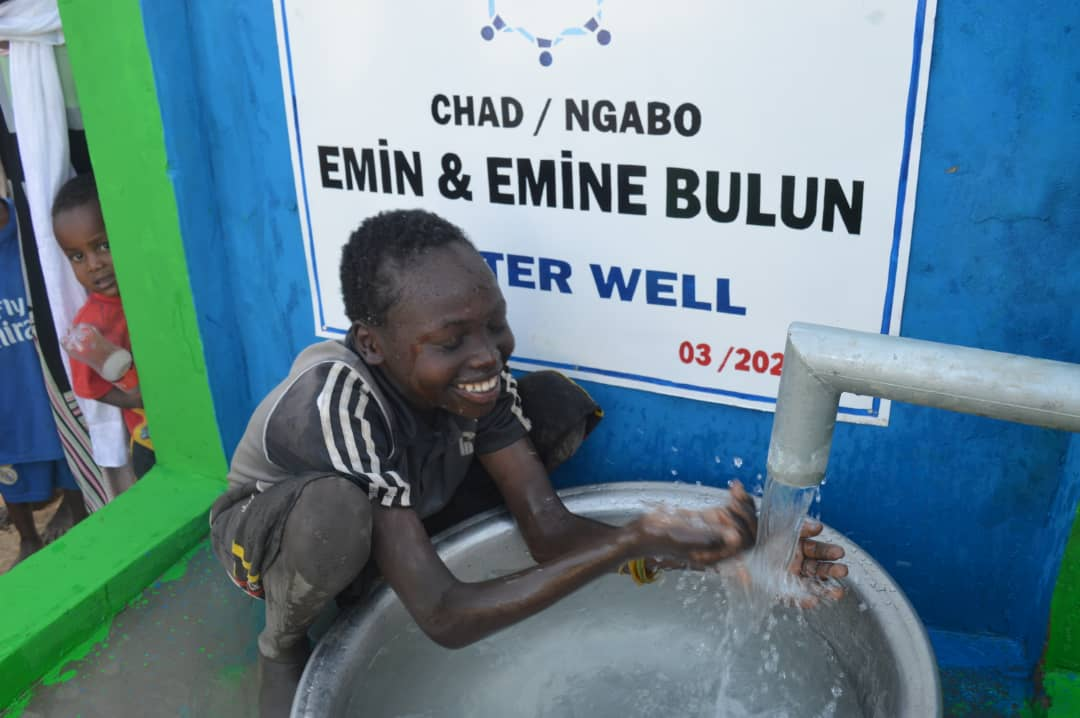Embrace Relief Water Well Chad