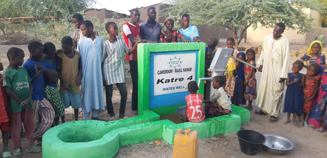 Embrace Relief Water Well Cameroon