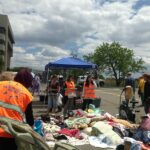 Soma Disaster Relief Stand