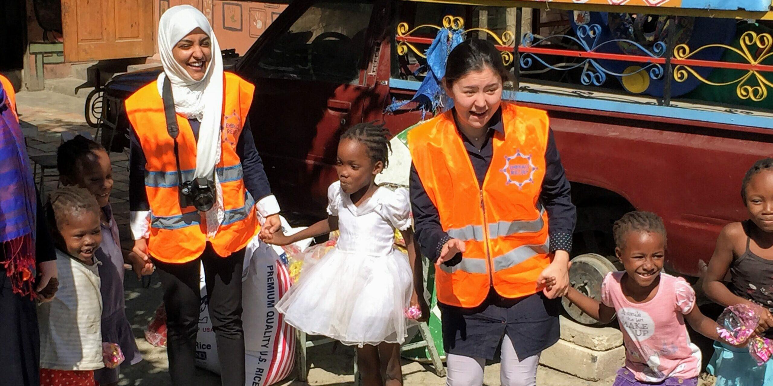 Embrace Relief Volunteers