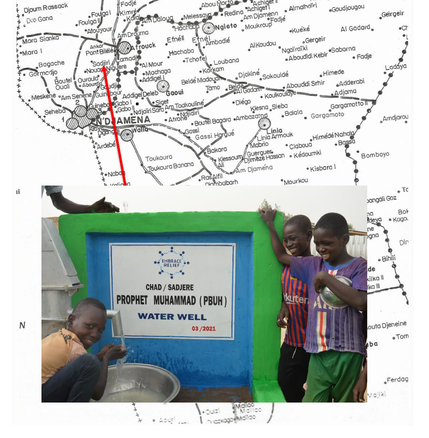 Chad Water Well